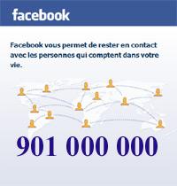 Facebook atteint les 901 millions d'utilisateurs